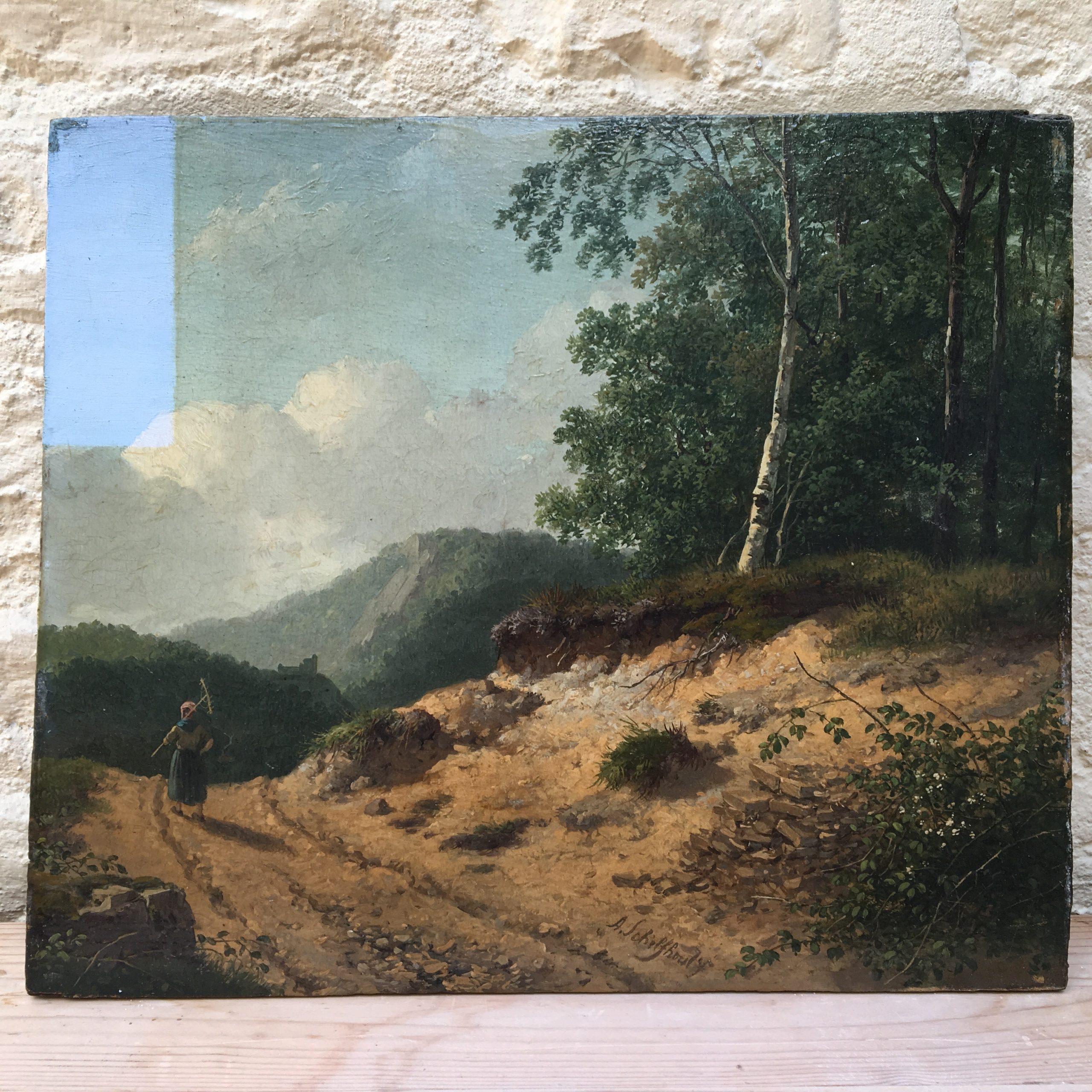 Schelfhout landschap